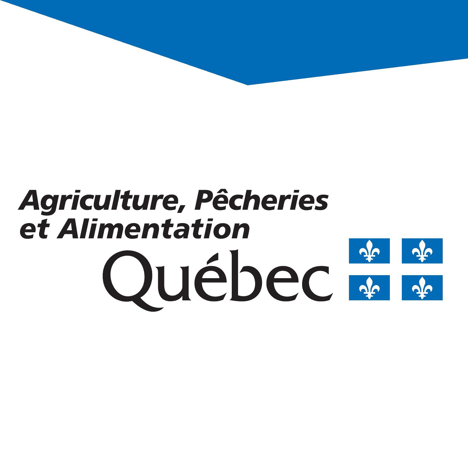 Logo du Mapaq - Agriculture, pêcheries et alimentation - Québec
